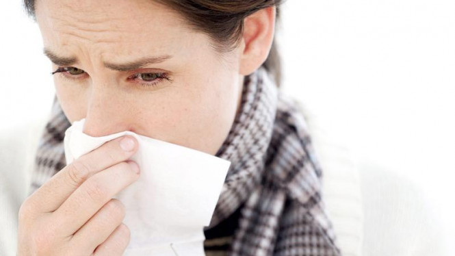 Wanita flu.