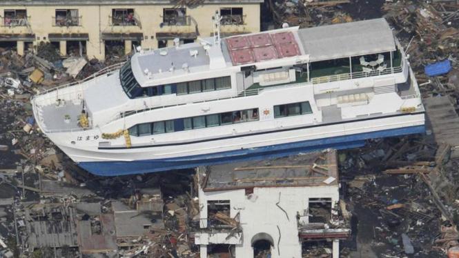 Pasca tsunami Jepang