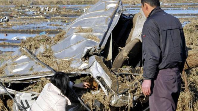 Korban gempa bumi Jepang