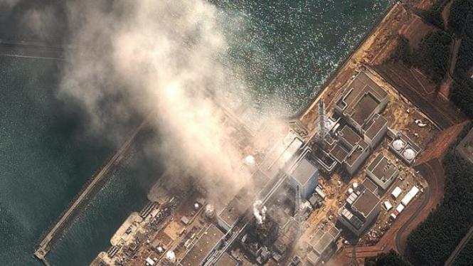 Kebakaran di PLTN Dai-ichi, prefektur Fukushima