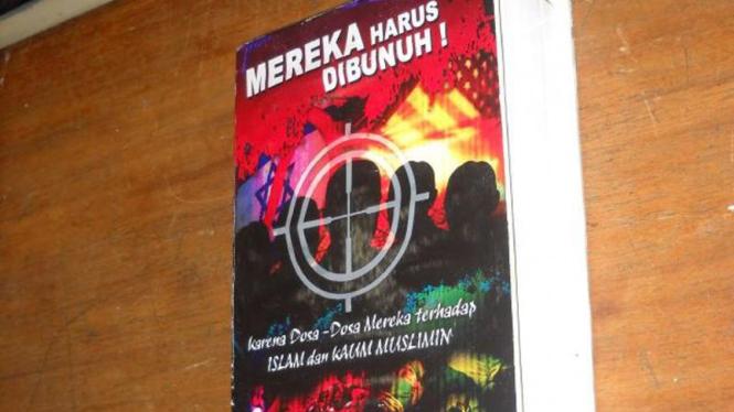 Buku yang berisi bom di Utan Kayu