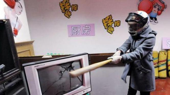 ruang 'pelampiasan amarah' di Senyang