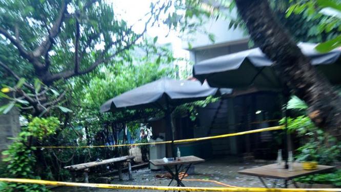 Lokasi ledakan bom di Utan Kayu