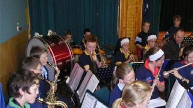 Ekstrakurikuler musik di sekolah