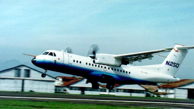 Pesawat N-250.