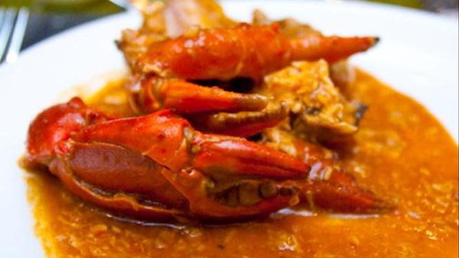 Kepiting ala 'Pasar Senggol'