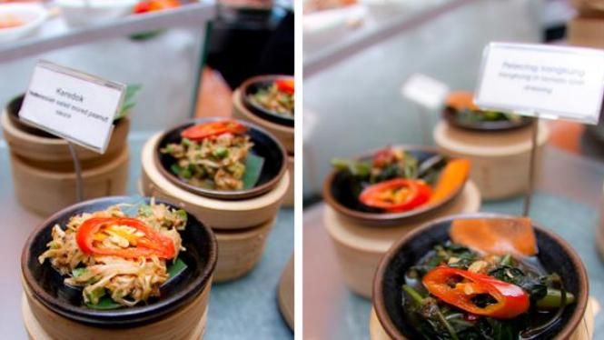 menu sayuran ala 'Pasar Senggol'
