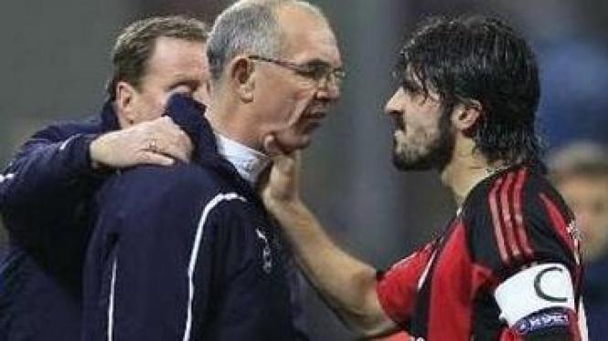 Joe Jordan (kiri) dan Gennaro Gattuso