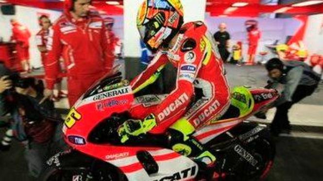 Valentino Rossi di Qatar