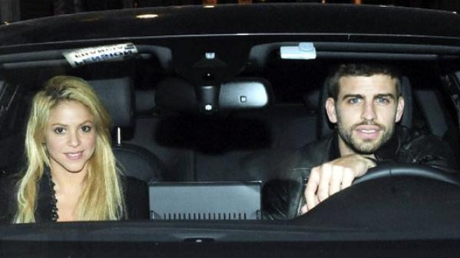 Shakira dan Gerard Pique