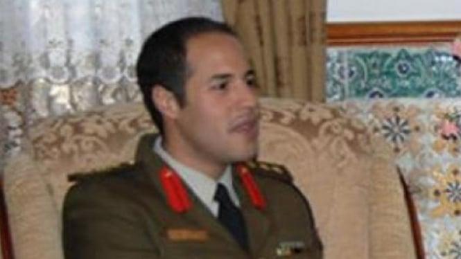 Putra Khadafi, Khamis, pemimpin Brigade Khamis.