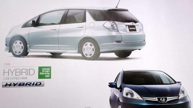 Honda Jazz Wagon