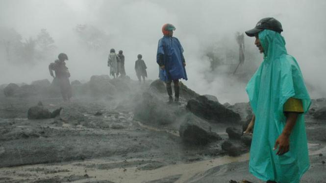 Banjir lahar dingin di Yogyakarta