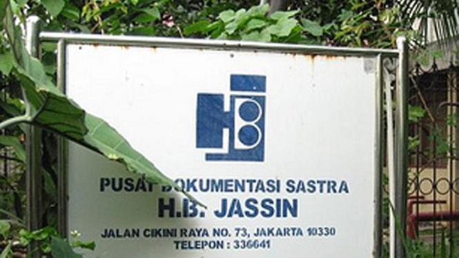 Pusat Dokumentasi Sastra H.B Jassin