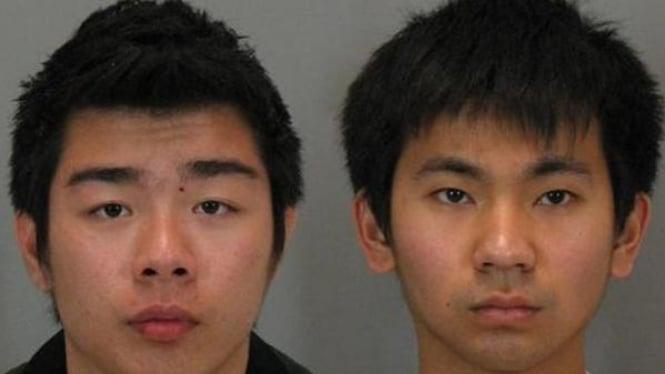 (ki-ka) Vincent Christopher Mergonoto, 19, dan Chandra Deddy Purnama, 25.