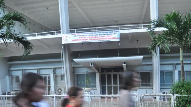 Kantor PSSI di kawasan Stadion Gelora Bung Karno, Senayan, Jakarta