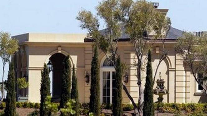 Pemandangan rumah seharga US$100 juta di California, AS