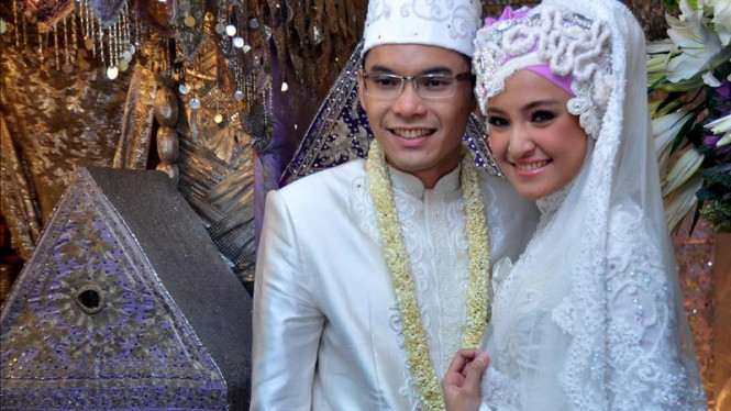 Pernikahan Ben Kasyafani-Marshanda