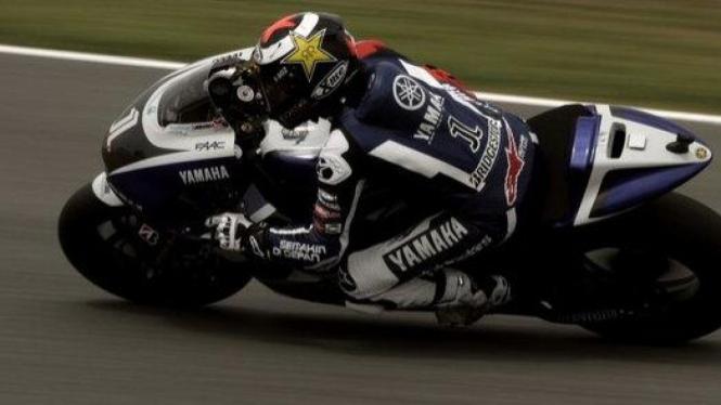 Jorge Lorenzo di MotoGP Spanyol