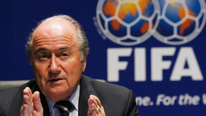 Presiden FIFA, Sepp Blater
