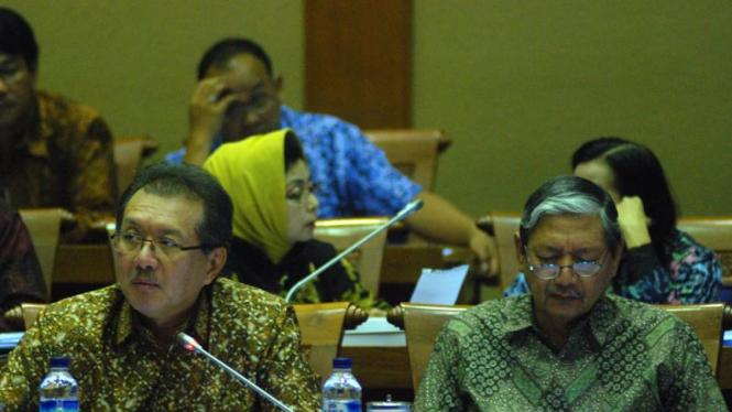 Deputi  Bank Indonesia, Halim Alamsyah Dan Budi Rochadi