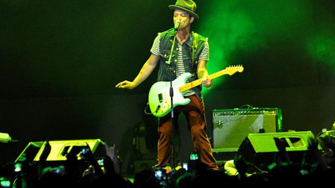 Konser Bruno Mars