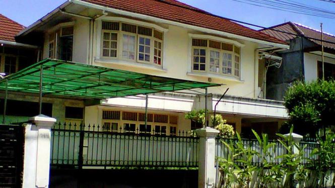 Rumah milik Inong Melinda alias Melinda Dee