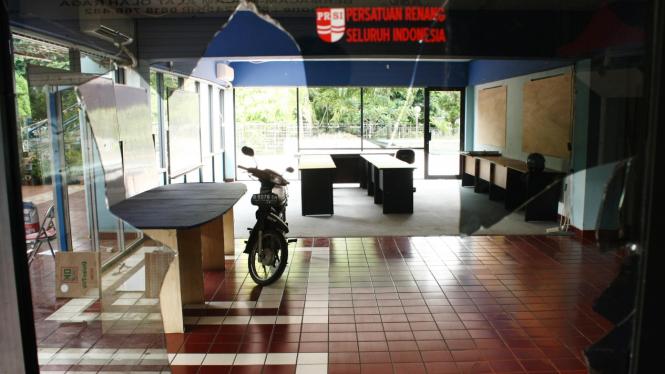 Kantor PB PRSI rusak
