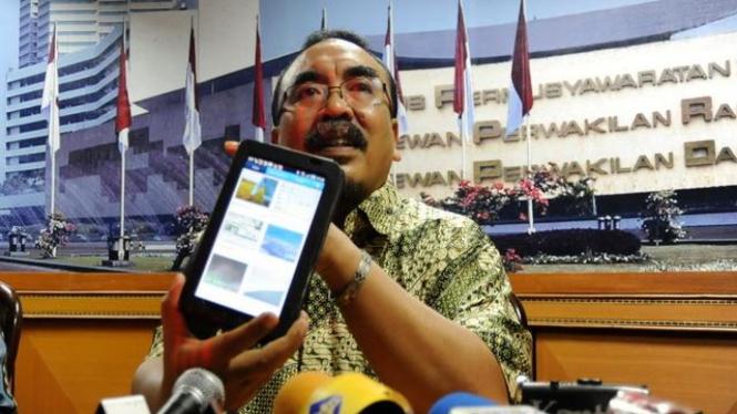Politikus PKS Arifinto semasa hidup