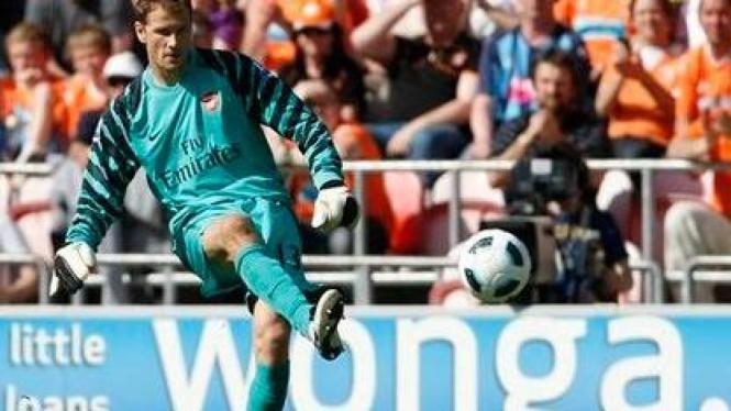 mantan kiper Arsenal, Jens Lehmann
