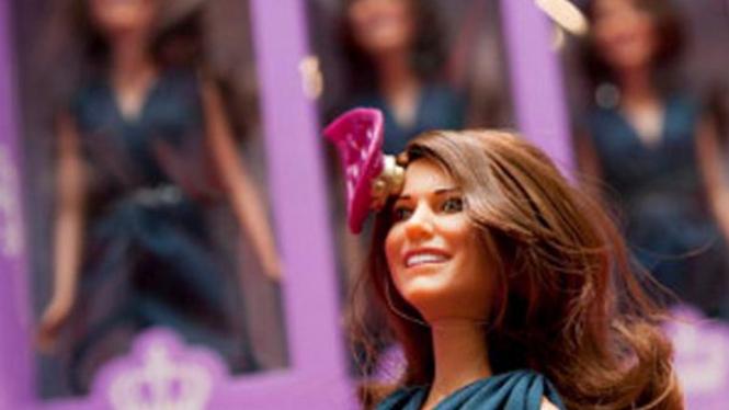 Boneka Kate Middleton