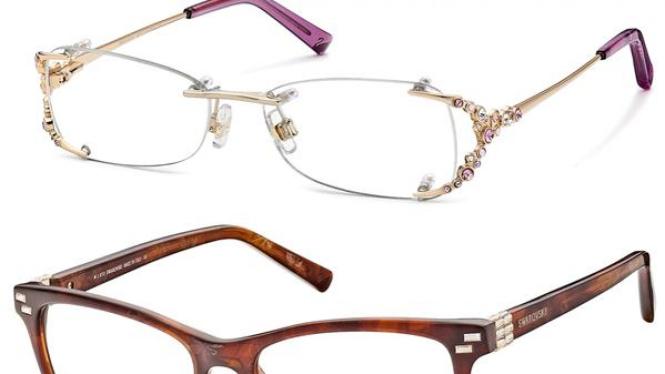 kacamata bertabur berlian