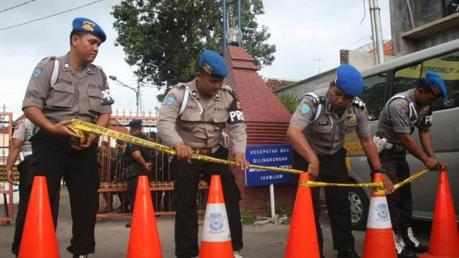 Pasca ledakan bom di Cirebon