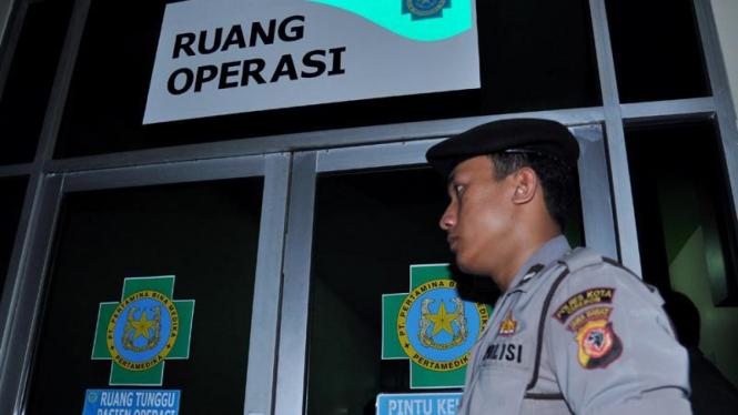 Bom Mapolresta Cirebon