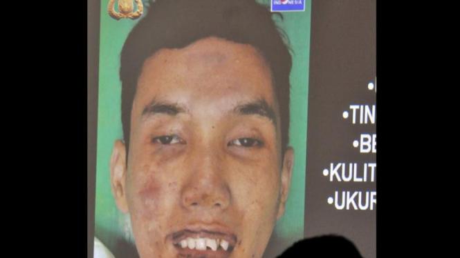 Wajah pelaku bom bunuh diri di masjid Mapolresta Cirebon