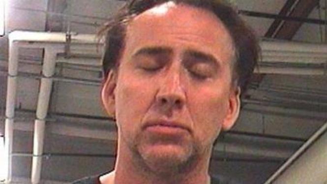 Nicolas Cage ditangkap di New Orleans