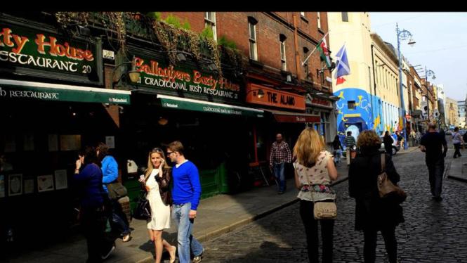 Dublin, Irlandia (UNTUK GALERI)