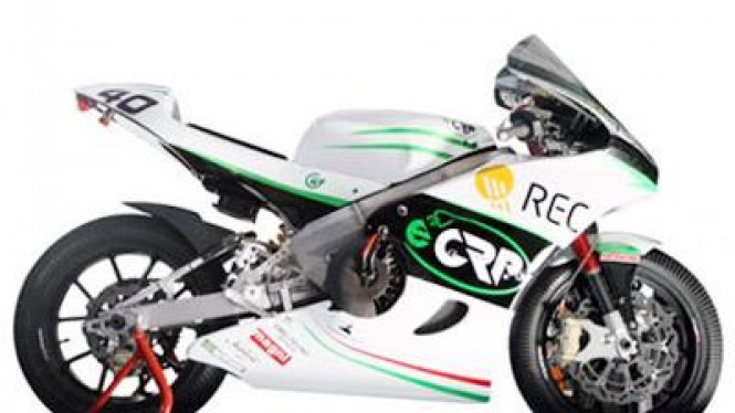 eCRP 1.4, motor listrik pertama buatan Italia