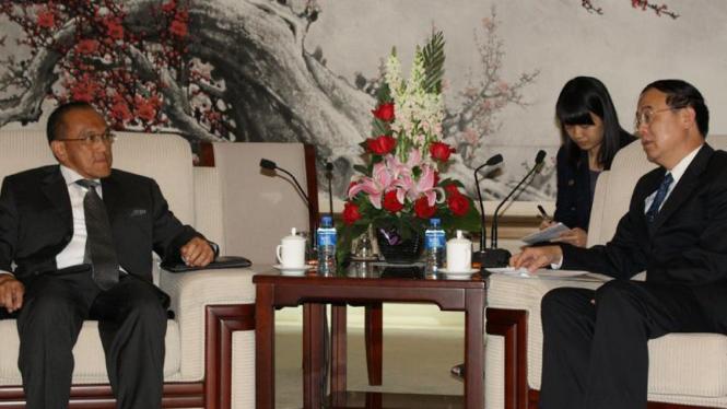 Kunjungan Aburizal Bakrie ke China