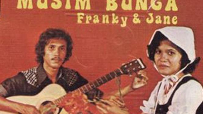 Cover kaset Franky & Jane 'Musim Bunga'
