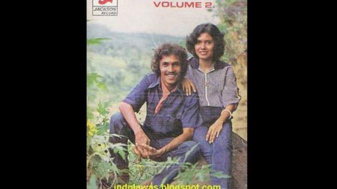 Cover kaset Franky & Jane 'Kepada Angin dan Burung-burung'