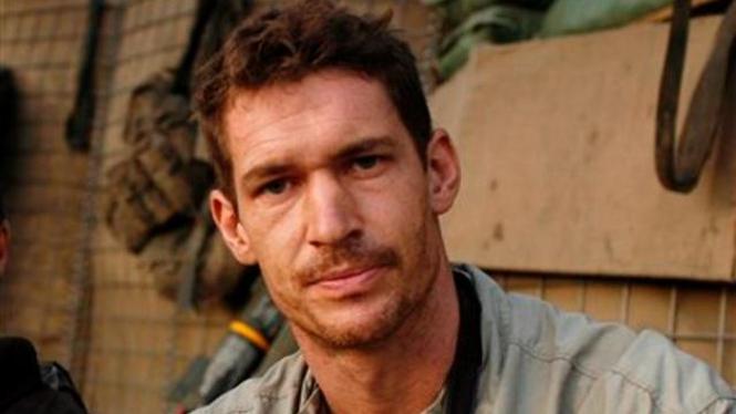 Tim Hetherington saat berada di Afganistan pada 2007
