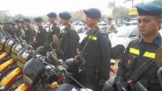 Pengamanan Paskah di Surabaya