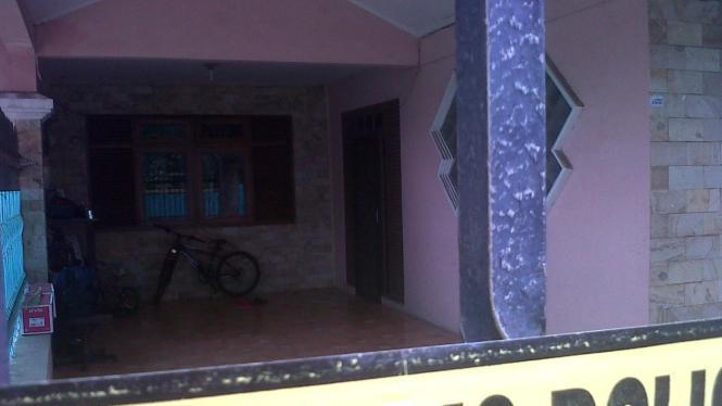 Rumah mertua Pepi Fernando di Bekasi