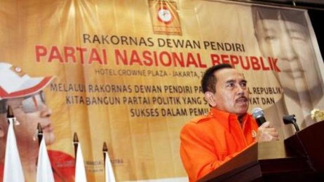 Pendiri Partai Nasional Republik (Nasrep) Mayjen (Purn) Edi Waluyo