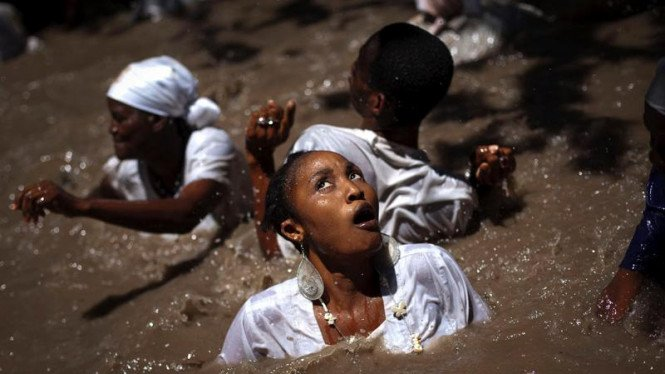 Ritual Voodoo di Haiti