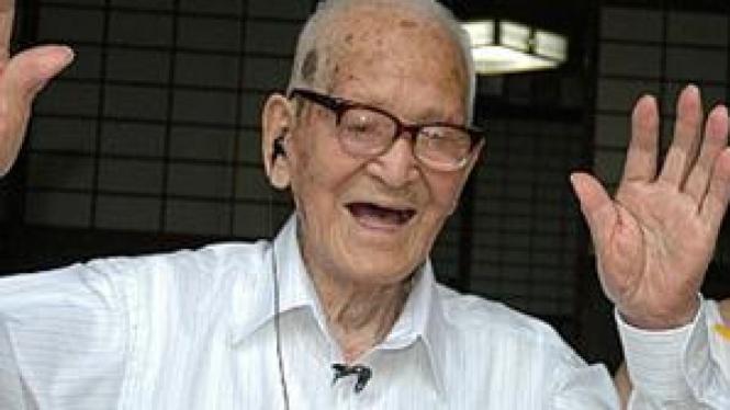 Jiroemon Kimura, pria tertua di dunia