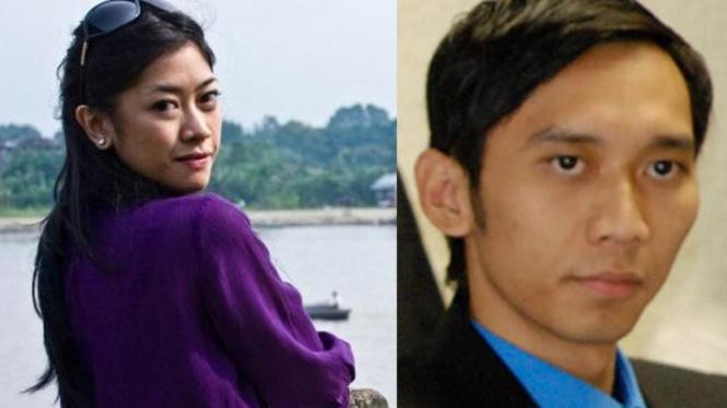 Aliya Rajasa dan Edhie Baskoro Yudhoyono
