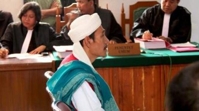 Ujang, salah satu terdakwa penyerangan Jemaat Ahmadiyah di Cikeusik