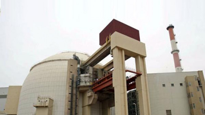 Instalasi reaktor nuklir Bushehr, Iran, yang diserang oleh virus.